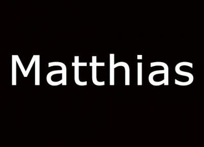 Geschützt: Matthias