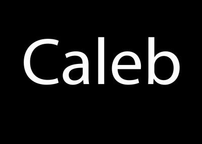 Geschützt: Caleb