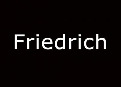 Geschützt: Friedrich