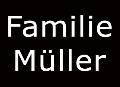 Geschützt: Familie Müller